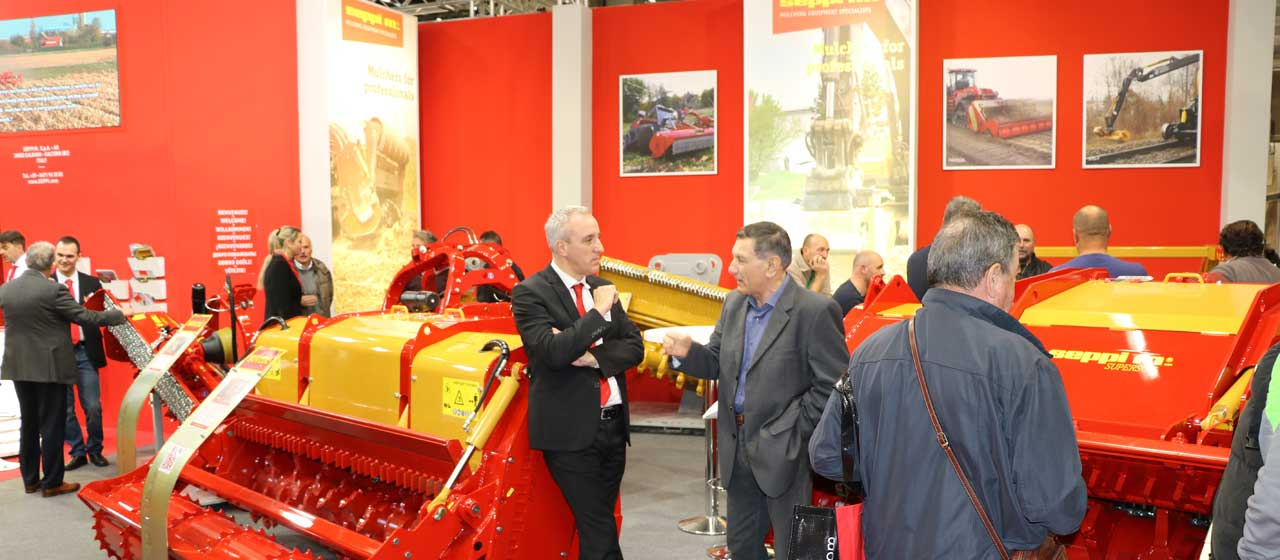 Come and visit SEPPI M. stand at the EIMA fair in Bologna!