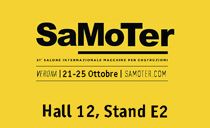 Samoter Verona Fair with SEPPI M. mulchers and stone crushers