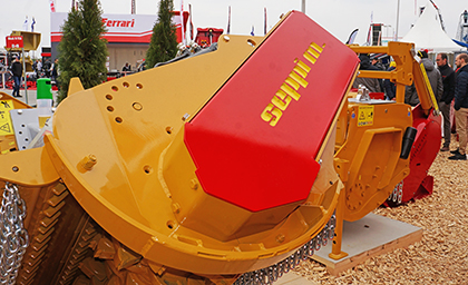 SEPPI MINIFORST cl - forestry mulcher for compact loaders skid steer