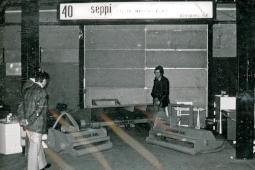 Luciano Seppi trattore