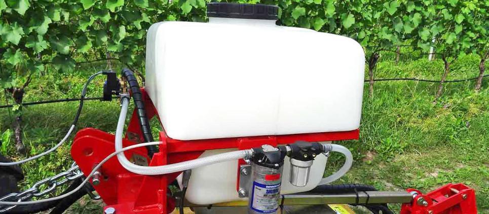 Pulverizadora de herbicida