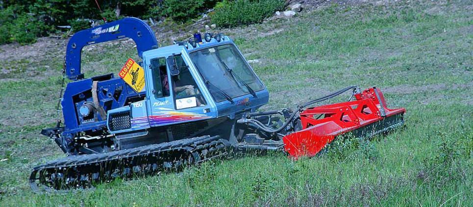 Trituran hierba y ramas hasta 11 cm Ø