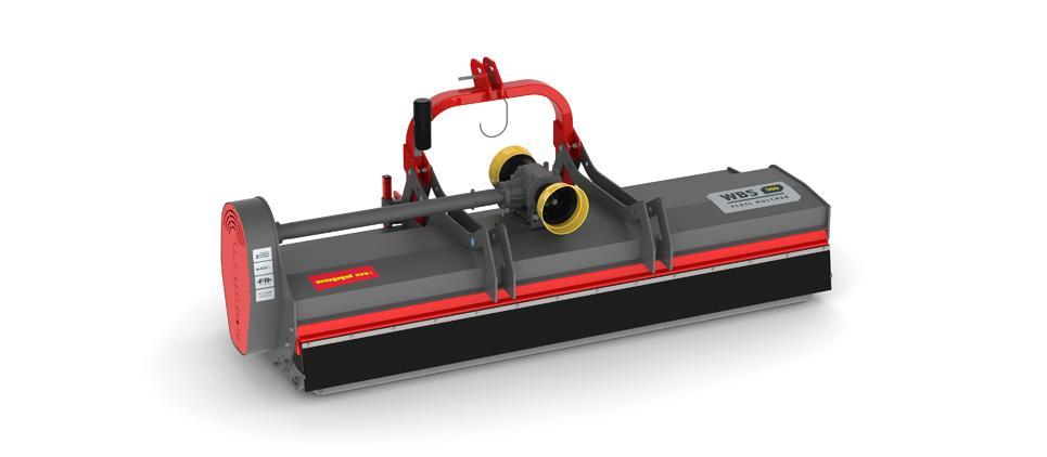Heavy duty flail mulcher 130-200 HP