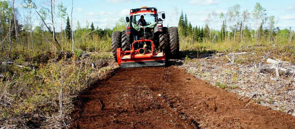 Ideal for small scale vegetation management and right-of-way maintenance