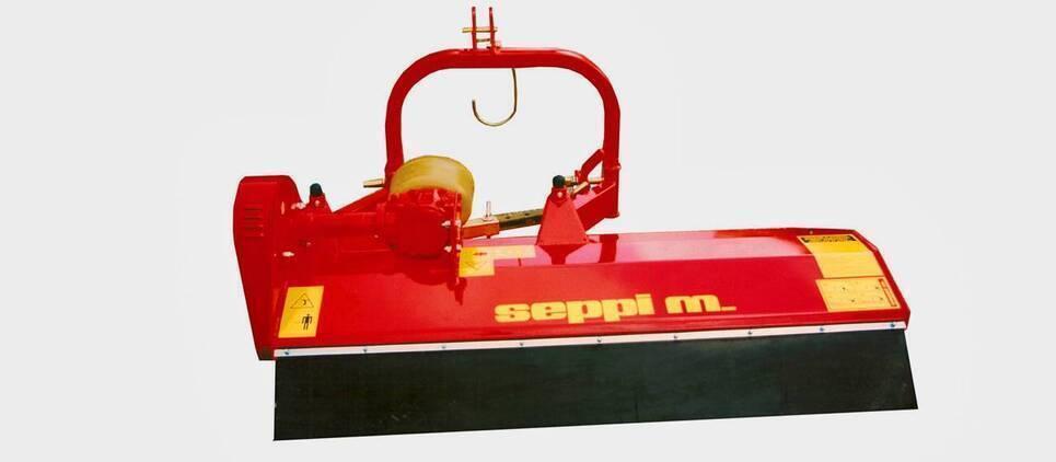 La trinciatrice per trattori più leggera e più semplice della gamma SEPPI M