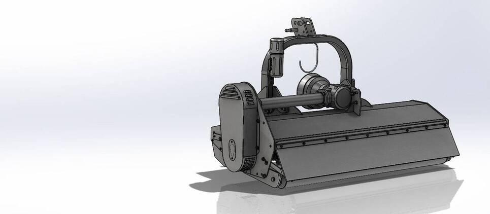 La trituradora para tractores más liviana y simple de la gama SEPPI M