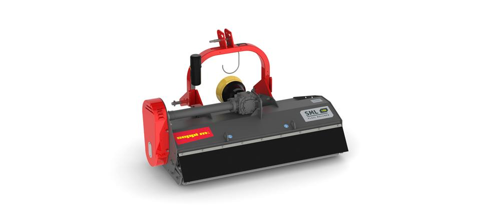 The smallest, simplest and easiest SEPPI M. mulcher for small tractors