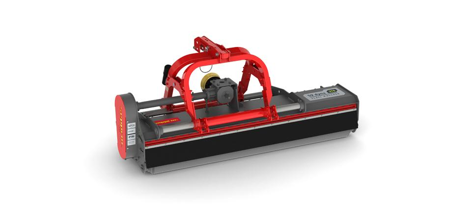 """ols Flail mulcher with side shift to mulch grass and prunings up to 9 cm [3.5""""] Ø"""