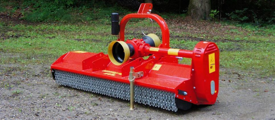medium duty flail mulcher for PTO/tractor 30-90 HP