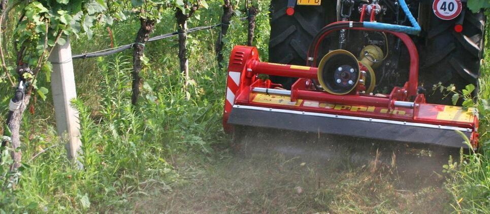 Broyeur réversible pour les vergers et les vignobles