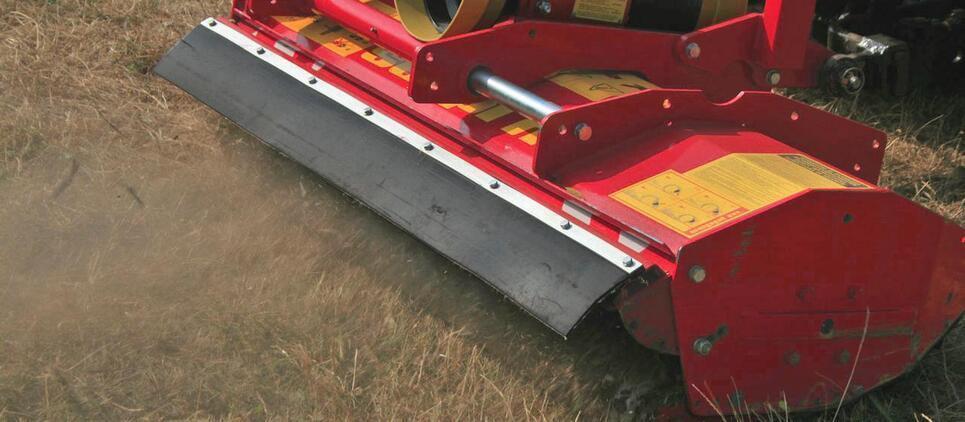 Trituradora profesional para tractores compactos.