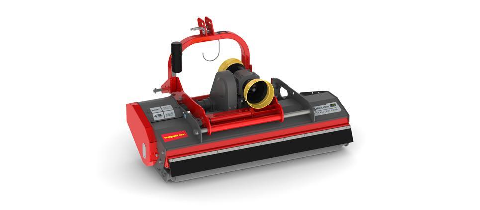 The ultra low, aerodynamic mulching mower