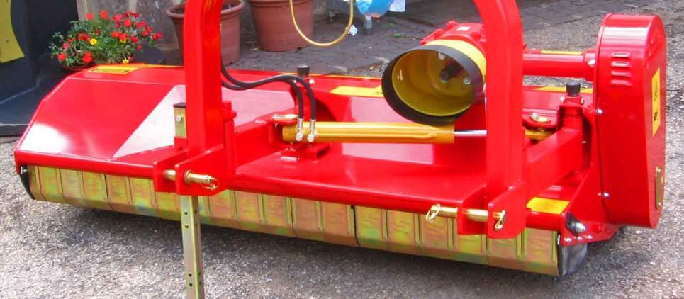 La trituradora clásica con amplio desplazamiento lateral