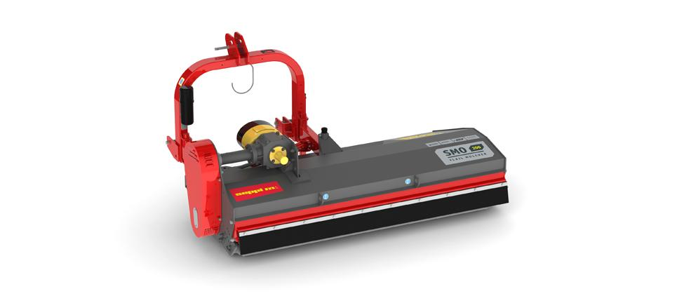 The mulcher classic with wide side displacement