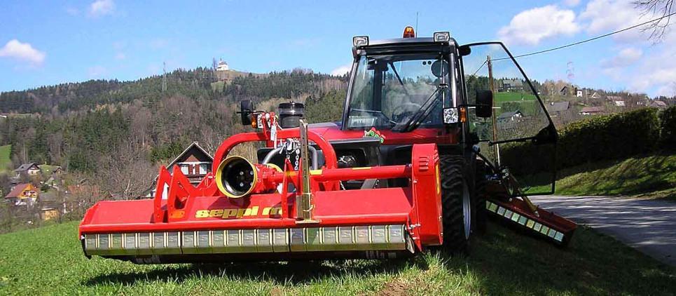 Broyeur pour l'agriculture ou l'entretien des espaces verts