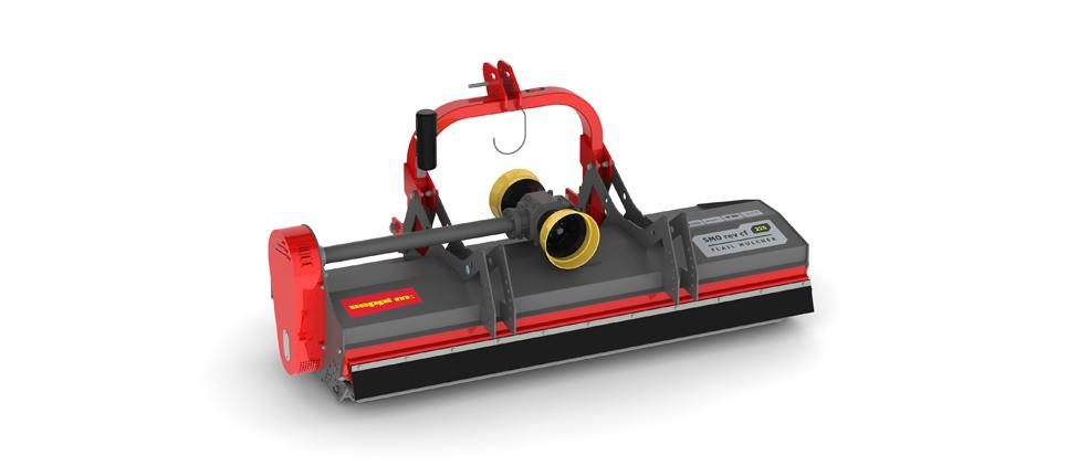 Mulcher for agriculture or greenspace maintenance