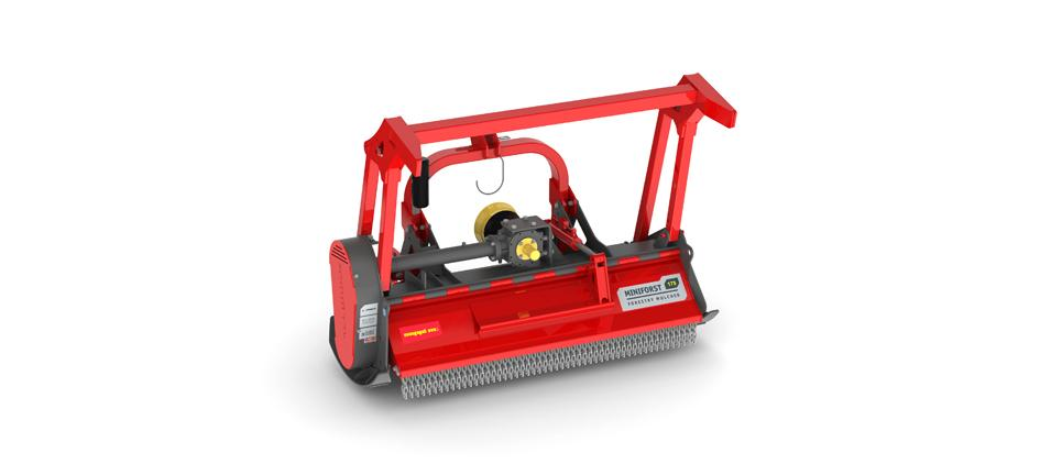 The strong little forestry mower for right of way and vegetation management