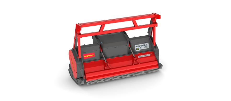 Forestry Mulcher for Land Clearing and Vegetation Management.