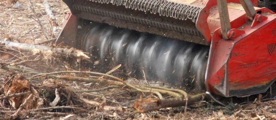 high performance forestry mulcher