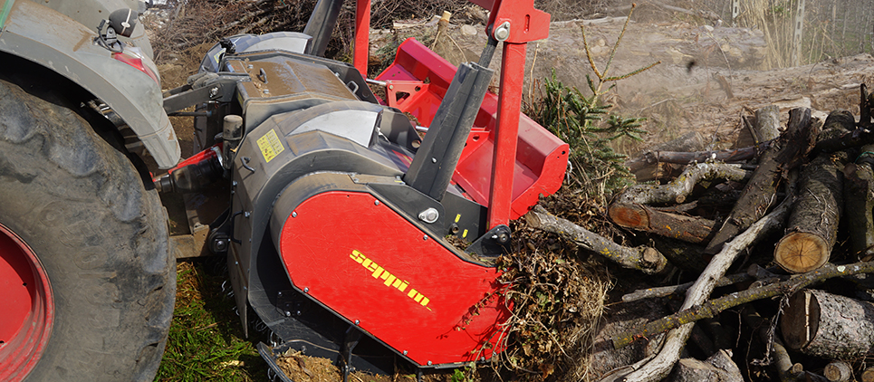 The professional forestry mulcher for any type of vegetation management.