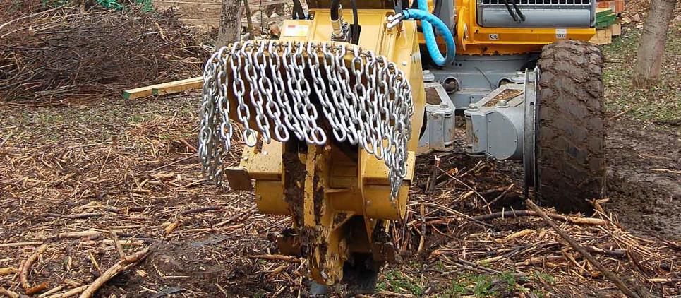 Fresaceppi per escavatori da 15 a 30 t