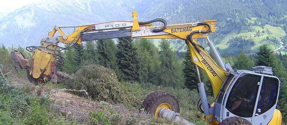 Fresadora para excavadoras de 15 a 30 t
