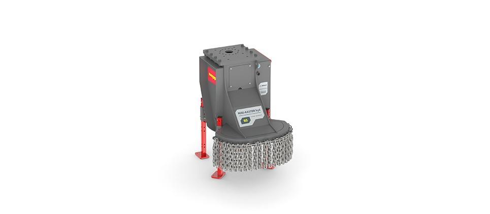 Stump grinder for small and medium excavators