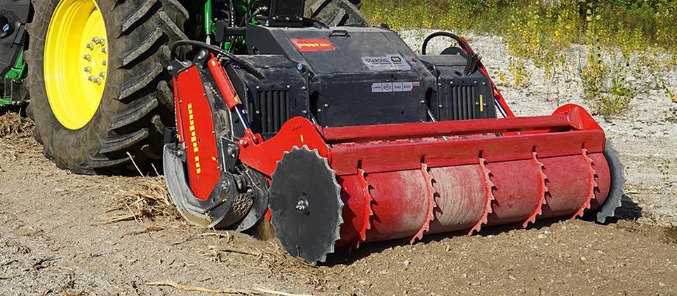 SEPPI STARSOIL – классическая фреза-ротоватор  SEPPI M, которая подходит для тракторов мощностью 180-310 л.с.