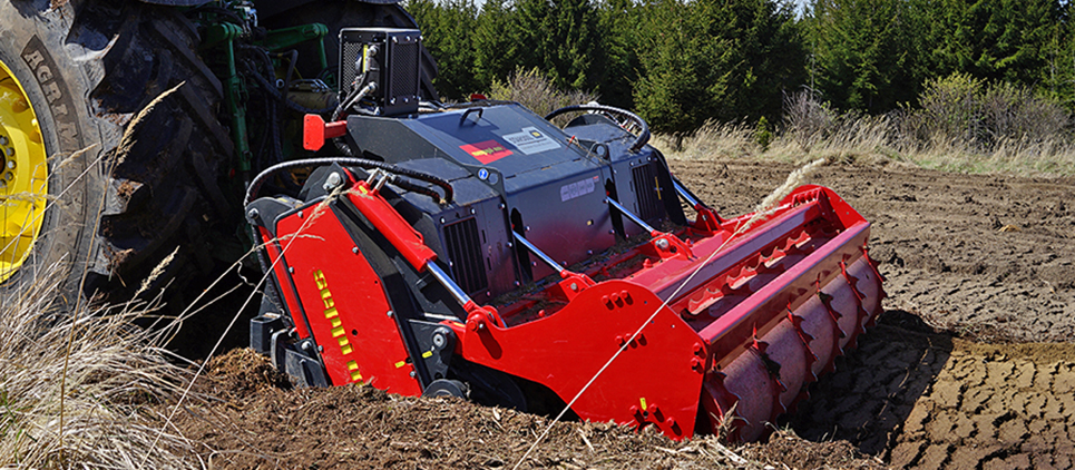 Fresadora para el suelo STARSOIL es altamente versátil, es compatible con todos los tractores con clase de potencia comprendida entre 180 y 310 CV