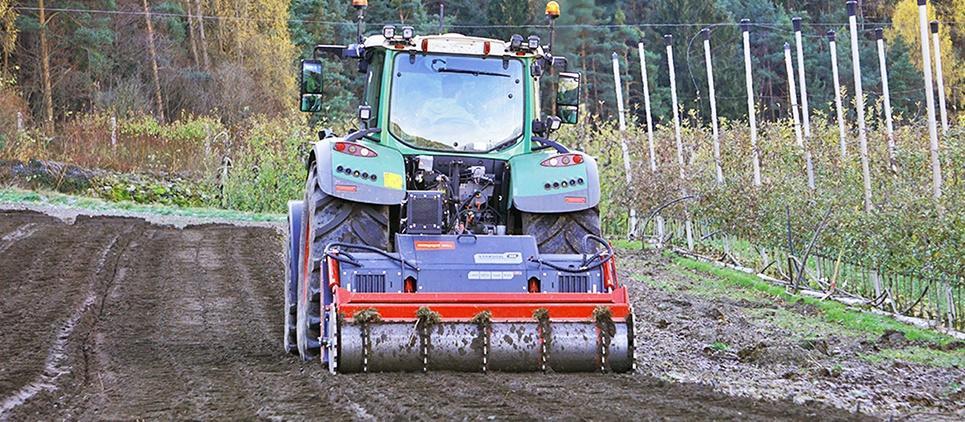 STARSOIL stone crusher - forestry tiller 180-310 HP