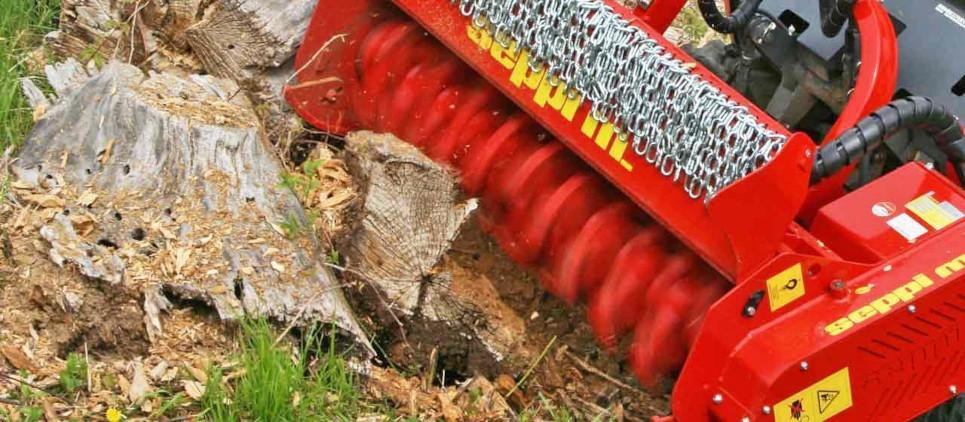 Trinciatrice per escavatori e veicoli idraulici 3-8 t