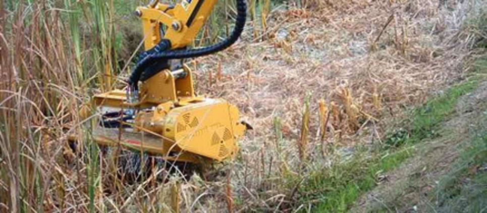 Trituradora de acople a excavadoras de 5 a 13 t