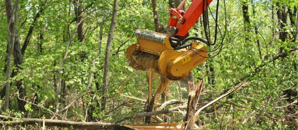 Trituradora forestal liviana