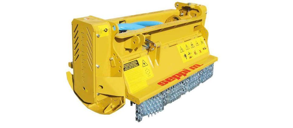 Mulching attachment for excavators up 7 to 15 t