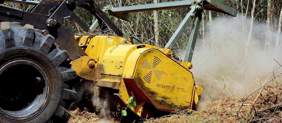 Trinciatrice forestale dalle alte prestazioni