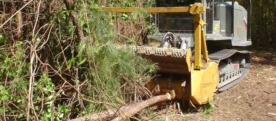 Broyage de bois jusqu'à 50 cm