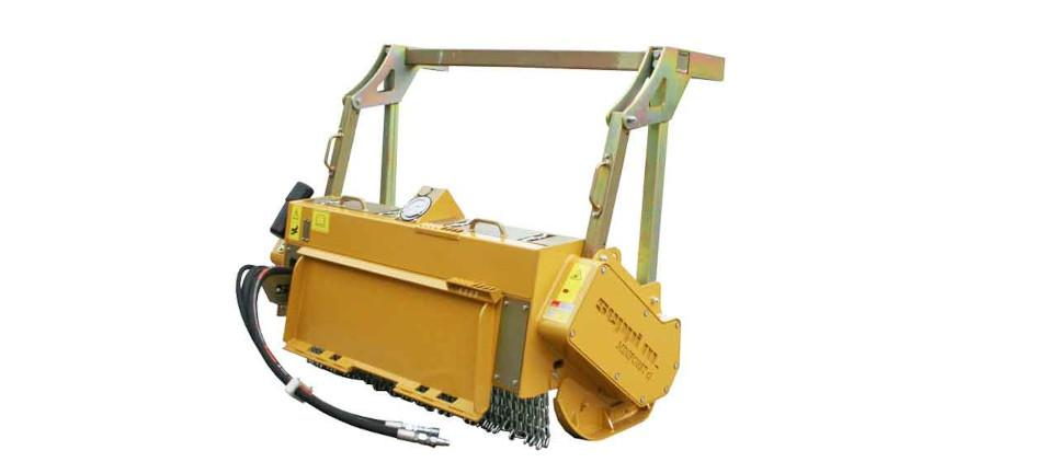 forestry mulcher for compact loaders