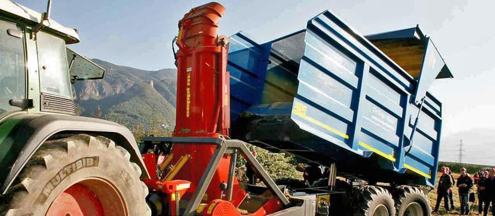 trinciatrice forestale autocaricante