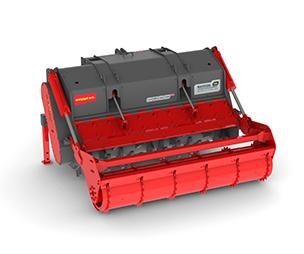 SEPPI MAXISOIL is a multifunctional tiller-mulcher. It tills soil and roads, mills stumps and mulches wood