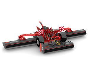S9 multipla Trituradora potente de área grande, con un ancho de trabajo de hasta 8 metros